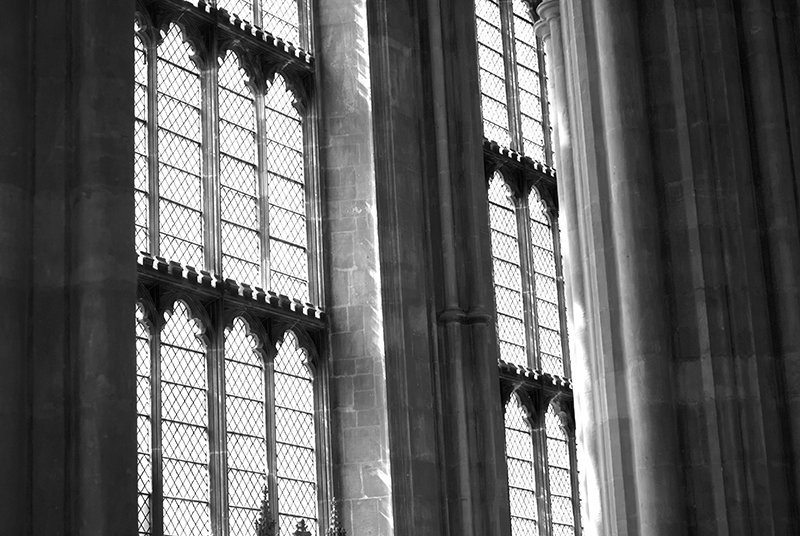 Canterbury Cathedral windows